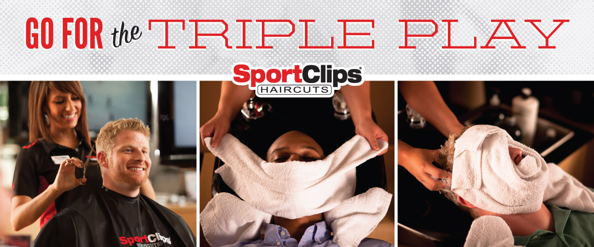 The Sport Clips Haircuts of College Station - Tower Point  Triple Play