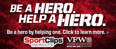 Sport Clips Haircuts of College Station - Tower Point ​ Help a Hero Campaign
